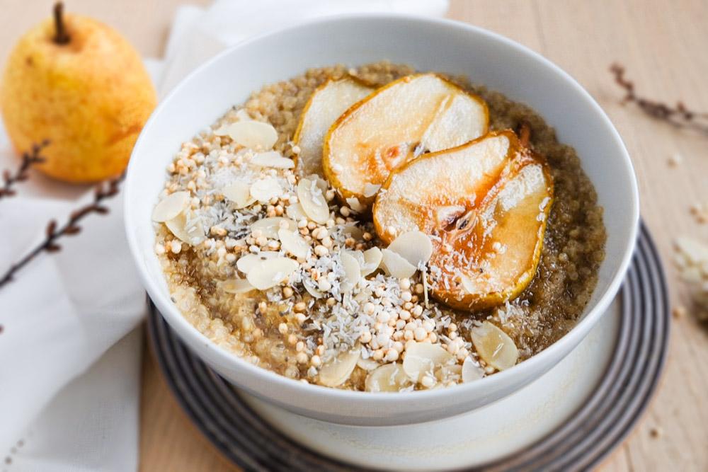 Quinoa-Porridge mit karamellisierten Birnen (1 von 1)-2