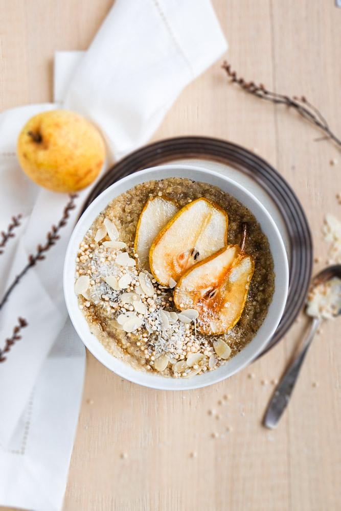 Quinoa-Porridge mit karamellisierten Birnen (1 von 1)-3