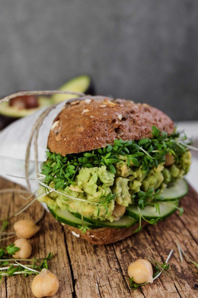 Avocado-Kichererbsen-Sandwich Homepage (1 von 1)