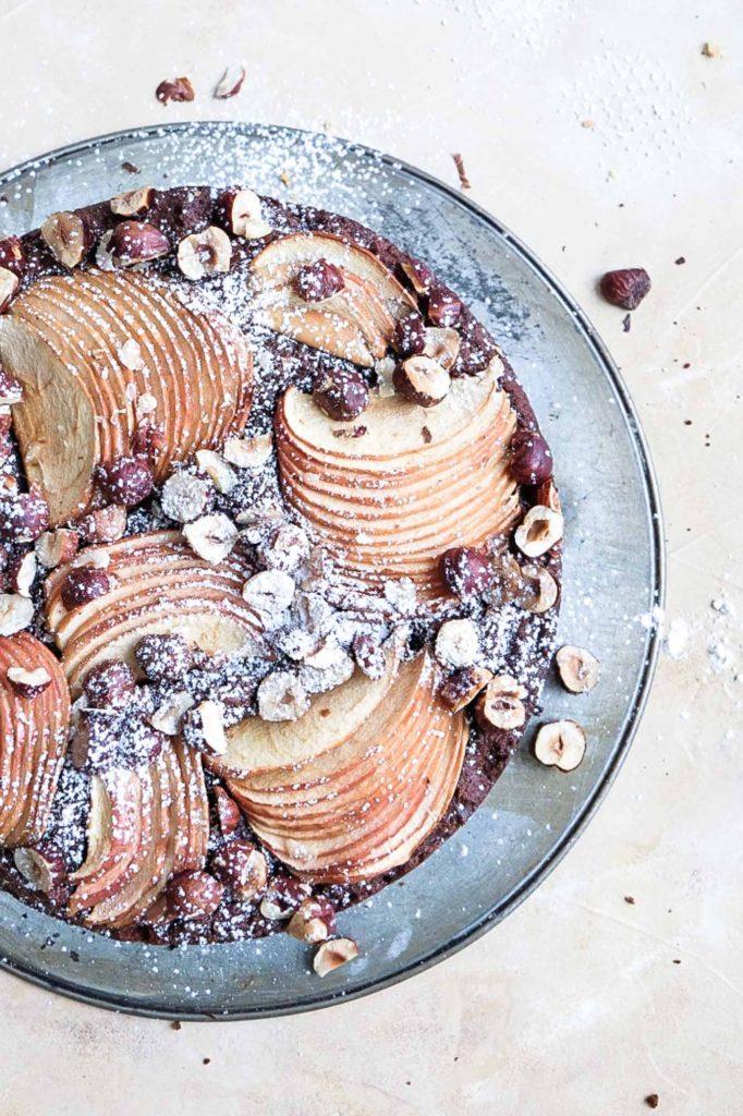 Glutenfreier Apfel-Schoko-Kuchen (9 von 13)