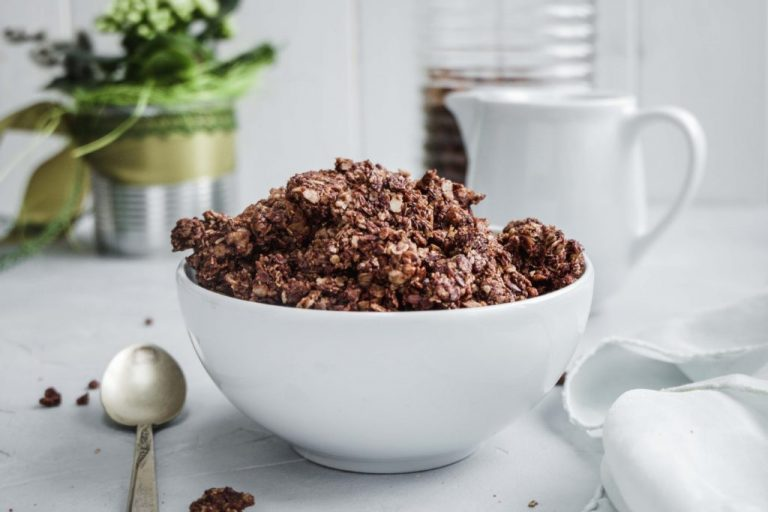 Crunchy-Schoko-Granola