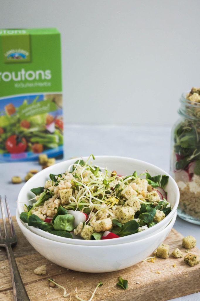 Salat mit Zitronencouscous und Croutons (13 von 14)