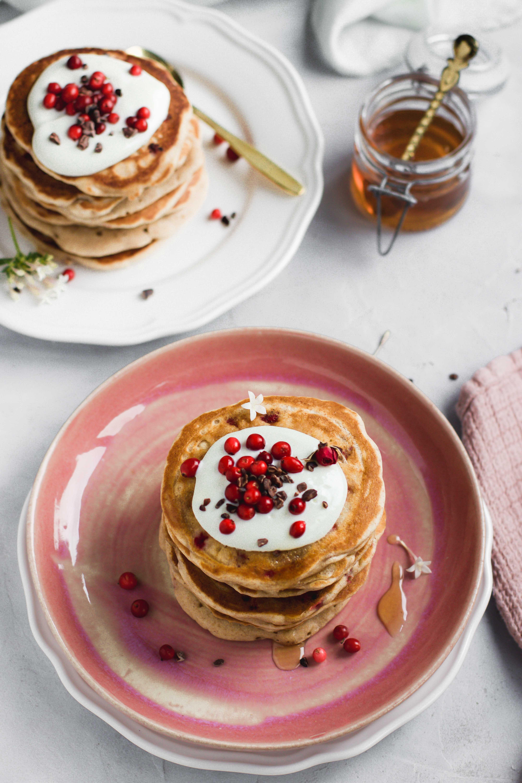 Preiselbeer Pancakes