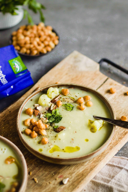Karfiol-Birnen-Suppe