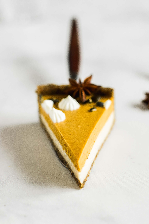 Raw Kürbis-Weiße-Schokolade-Tarte