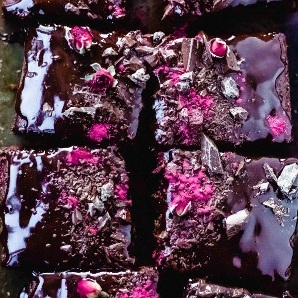 Red Velvet-Schokolade-Kuchen