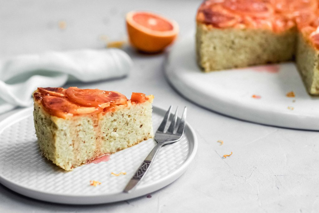Milchreis Orangen Up-Side-Down Kuchen