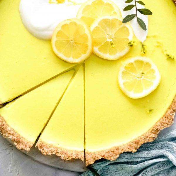 Zitronen-Kokos-Tarte