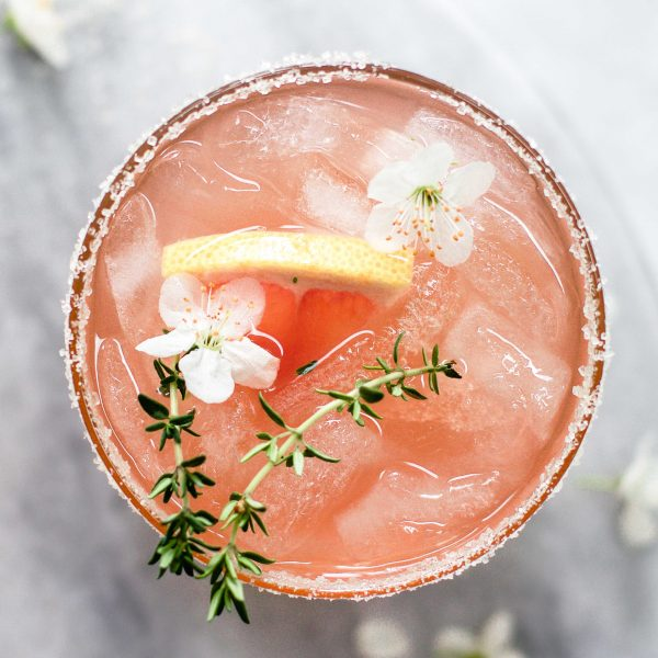 Grapefruit Thymian Mocktail
