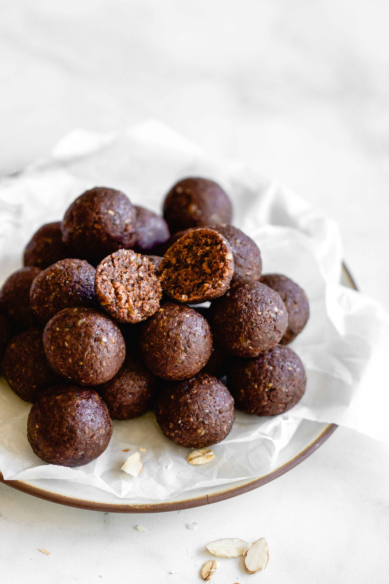 almond cacao bliss balls