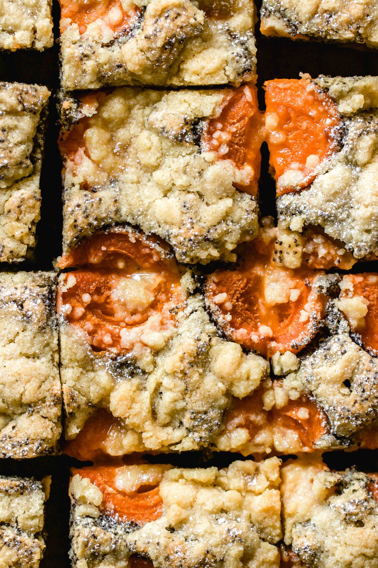 apricot poppyseed streusel cake