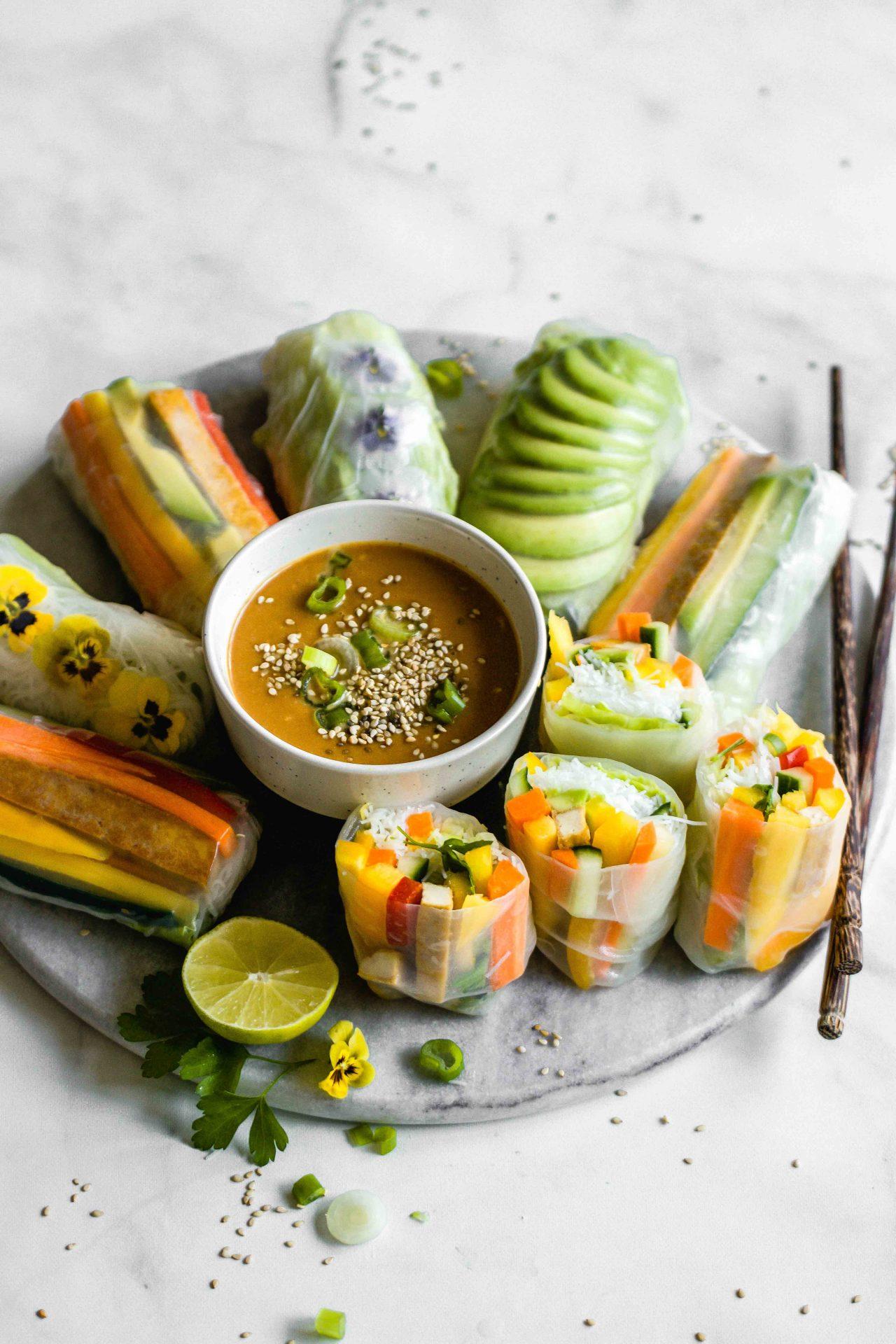 Veggie Summer Rolls