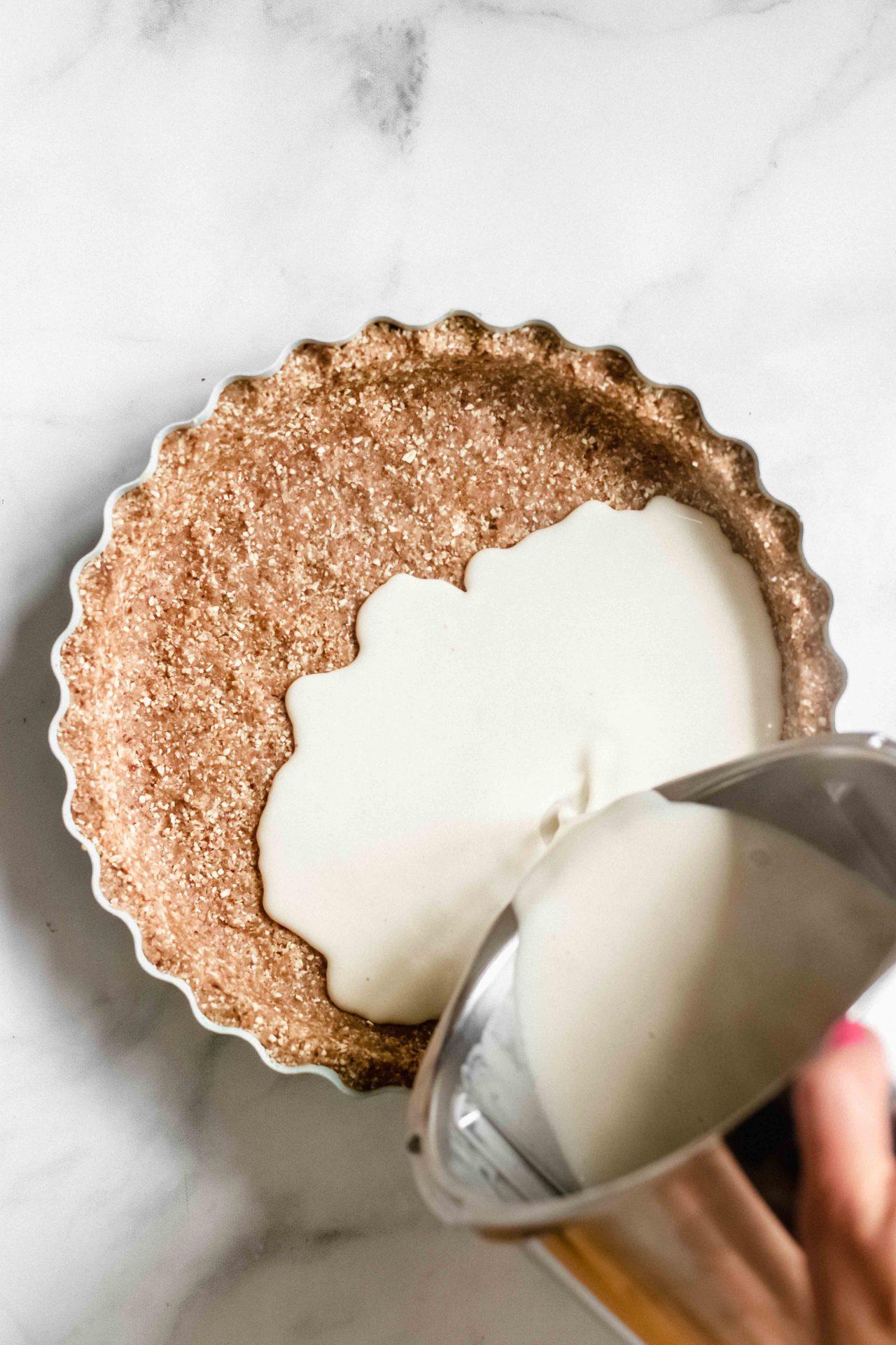 Plum Vanilla Tart