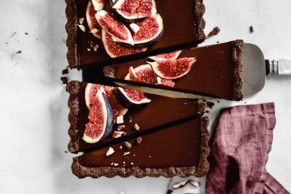 Schokolade-Tahin-Tarte