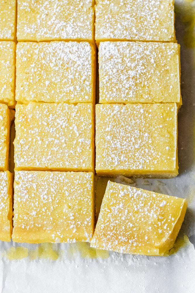 zitronenschnitten - lemon bars